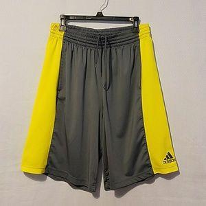 Adidas shorts.